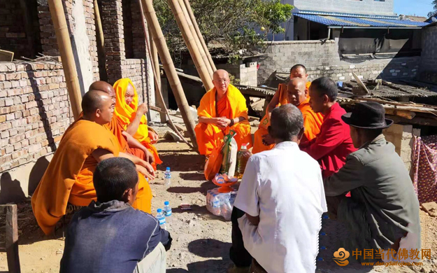 云南沧源佛协在中缅边境班老总佛寺举办教职人员宗教培训