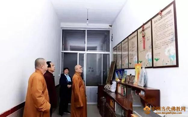 """烟台佛教协会组织开展""""四进活动""""实地调研"""