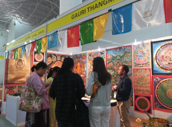 热度不减,海南国际佛事展冬至节迎来参观高峰