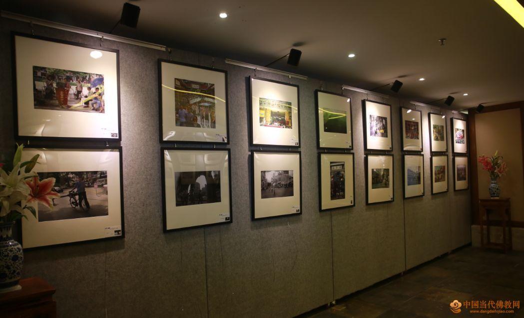 越秀四十年——林星摄影作品展在广州大佛寺举行