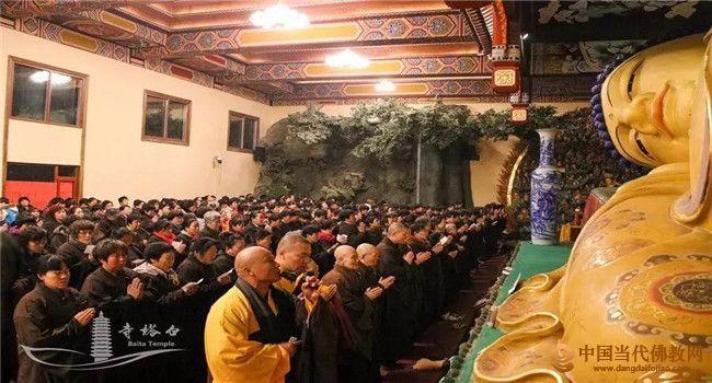 京南永清白塔寺将举办一年一度的佛前大忏悔法会