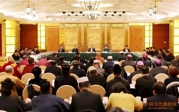 2019年四川省宗教界迎春座谈会在蓉举行