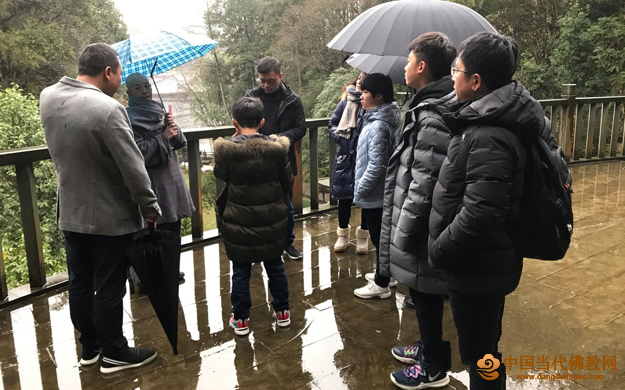 福建黄檗文化社团新春参访安徽、江西寺院 追溯法脉同源历史