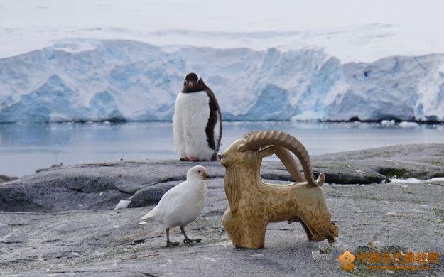"""陳海波:感懷""""南十字星下——中國藝術家南極探索之旅""""中的彌勒精神"""