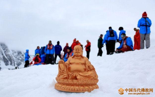"""陈海波:感怀""""南十字星下——中国艺术家南极探索之旅""""中的弥勒精神"""